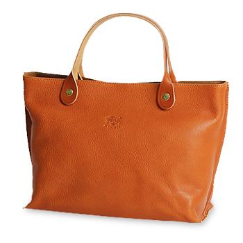 【イルビゾンテ IL BISONTE バッグ】仕切り付きトート(レザー)[商品番号_5432400114]【送料無料】【あす楽対応】【バッグ トートバッグ】
