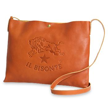 【イルビゾンテ IL BISONTE バッグ】ビッグロゴ2WAYショルダー[商品番号_54162305411]【送料無料】【バッグ ショルダーバッグ】