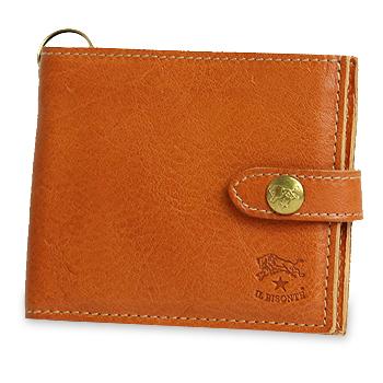 【イルビゾンテ IL BISONTE 財布】二つ折りクリアカードケース付き2つ折り財布[商品番号_5432409540]【送料無料】【あす楽対応】【財布 二つ折り財布】