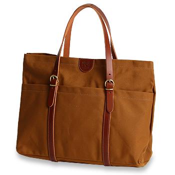 【イルビゾンテ IL BISONTE バッグ】前ポケットキャンバストート[商品番号_5432308120] 【送料無料】【バッグ トートバッグ】