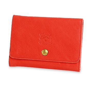 【イルビゾンテ IL BISONTE 財布】バッファローレザー2つ折りウォレット[商品番号_5422307440]【送料無料】【あす楽対応】【財布 二つ折り財布】