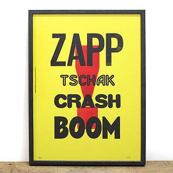 【s30】【ア トゥーパイププロブレム/A TWO PIPE PROBLEM】ZAPP... ウッドタイプポスター【送料無料】【キャンセル返品交換不可】【let】