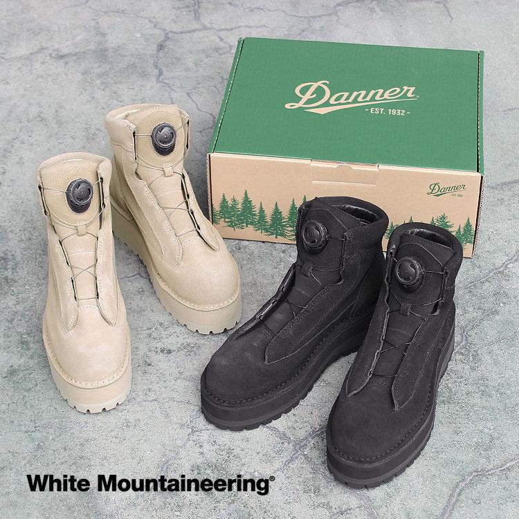 Mountaineering】WM×DANNER BOA'[WM2073830][D121007]【送料無料】 BOOTS(ホワイトマウンテニアリング×ダナーブーツ)'FIELD 【ホワイトマウンテニアリング/White