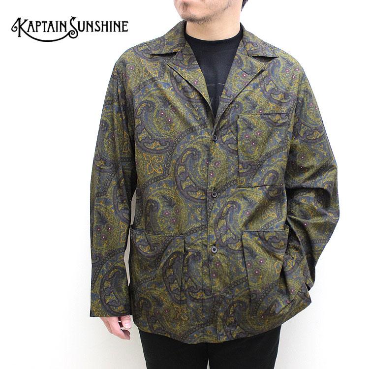 【s20】【キャプテンサンシャイン/KAPTAIN SUNSHINE】Traveler Shirt Jacket(トラベラーシャツジャケット)[KS20SJK14]【送料無料】【キャンセル返品交換不可】【let】