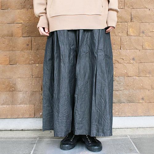 【グラム/(g)】ブラックデニムワンショルダースカート【送料無料】【p10】【クーポン利用可w200】