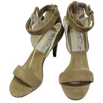 Anclebelt ラッフルアンクルベルトサンダルヒール85【送料無料】【あす楽対応】【返品交換キャンセル不可】 85 heel 【在庫処分】【ピッピ/Pippi】Ruffle Sandal