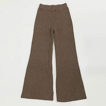 【トゥデイフル / TODAYFUL】フレアニットパンツ Flare Knit Pants【送料無料】