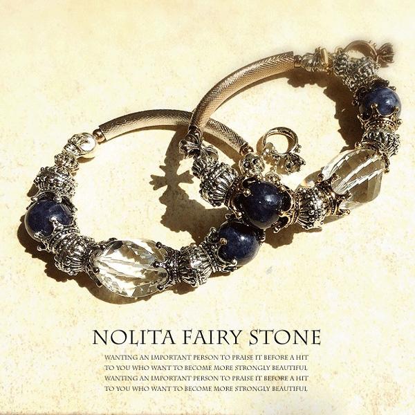 サファイア ブレスレット レディース パワーストーン ブレスレット NOLITA fairy stone 天然石水晶 ブレスレット サファイア パワーストーン ブレスレット チャーム ブレスレット Diva