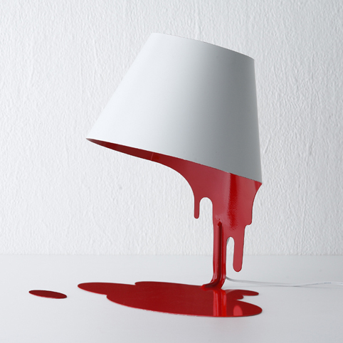 Liquid Lamp Tl The Interior Lighting Table Red White Miscellaneous Goods Mutual Prosperity Design