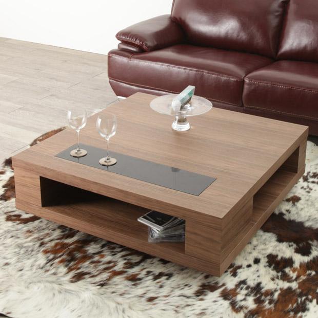 センターテーブル サイズ/幅 100 cm 奥行 100 cm 高さ 33 cm/ウォールナット/正方形/ローテーブル/コーヒーテーブル/天然木製/送料無料/シンプル/北欧テイスト/オフィス/colta