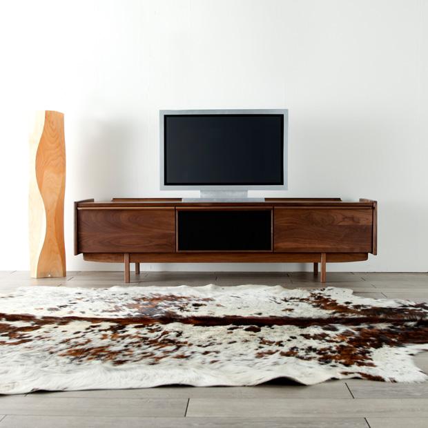 Wing Snack Width 180 Cm Tv Units Stand Board Lowboard Make Cabinet Av Mid Century Nordic Taste Natural Wood