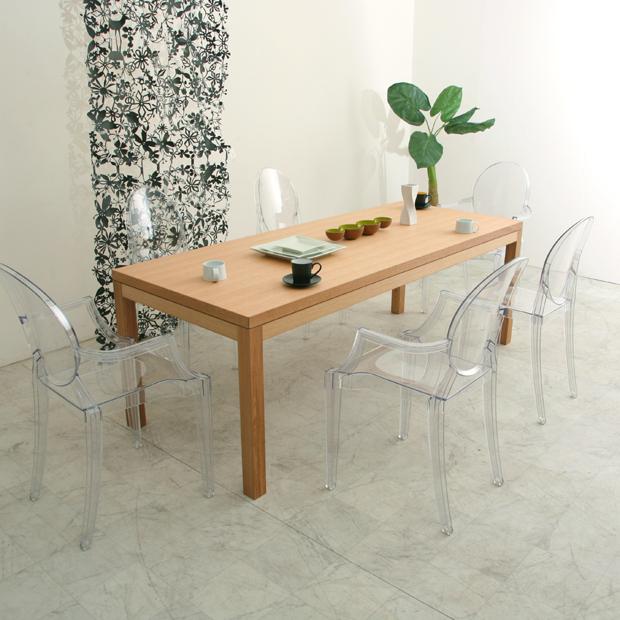 ダイニングテーブル 150 オーク/白 ホワイト 白家具/黒 食卓テーブル ハイテーブル 天然 木製 高級 送料無料 シンプル 北欧 ナチュラル オフィス ウレタン 大川家具 野中木工所 国産 オーダー alfonso