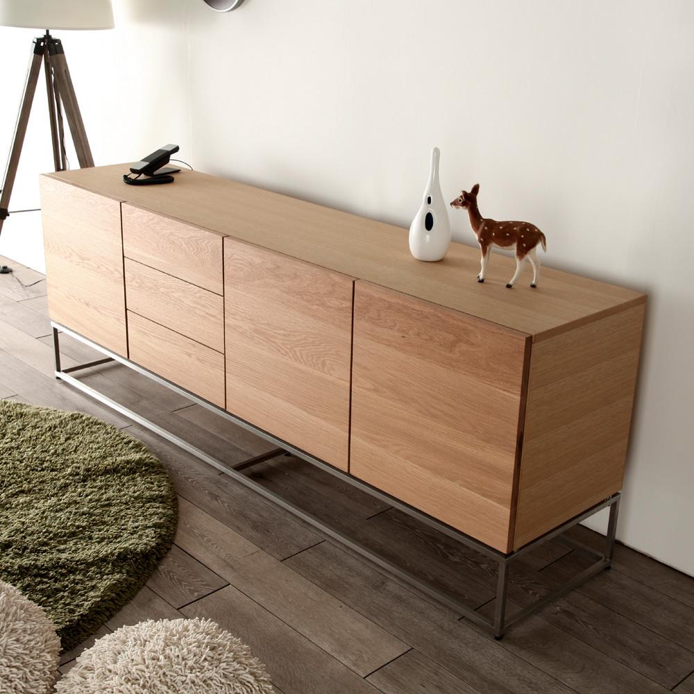 Nolsia Bugatti Bugatti Cabinet Width 200 Cm Oak Living Board