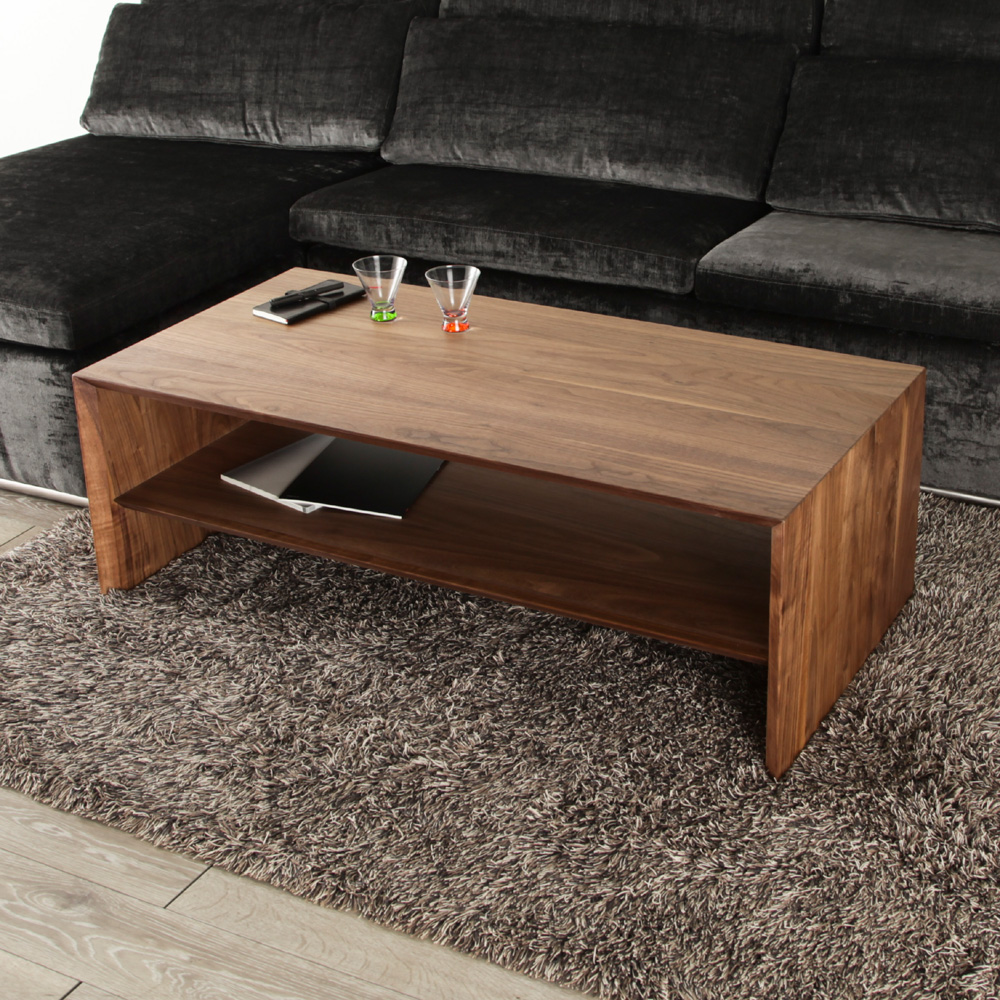 [shape] 120cm Center Table Walnut Oak Living Table / Low Table / Table /