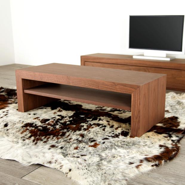 Etonnant Center Table / 120cm In Width 50cm In Depth Height 38 Cm/ Walnut / Living  ...