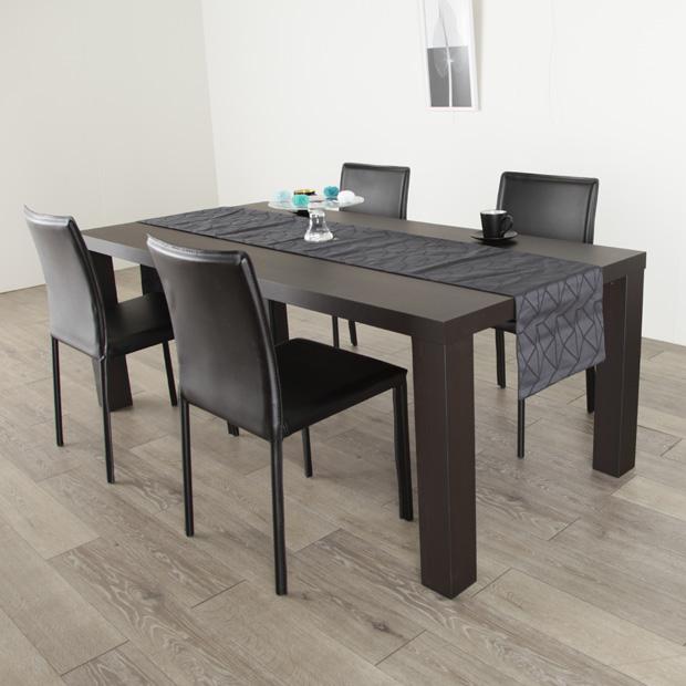 ダイニングテーブル 5点セット 幅 180cm 奥行 85cm 高さ 67cm タモ ダークブラウン ウレタン 食卓テーブル ハイテーブル 天然 木製 送料無料 シンプル 北欧 オフィス 大川家具 antonio