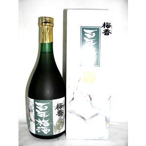 定番から日本未入荷 梅香 百年梅酒 720ml お得クーポン発行中 14度 明利酒類 茨城県 甲類焼酎ベース ブランデーブレンド 梅酒