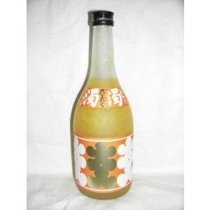 大入り にごり柚子酒 ランキングTOP10 無料 濁濁 ~極~ だくだく 720ml 8度 西山酒造場 ゆず酒 ※極にリニューアルされました 兵庫県 画像と一部異なります 甲類焼酎ベース