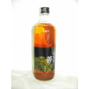 善 ブランデー仕込の梅酒 720ml 19度 全量ブランデーベース 梅酒 上等 在庫あり 和歌山県 紀州本庄うめよし