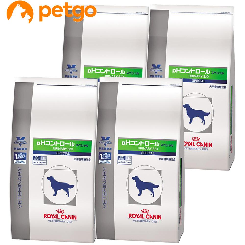 ロイヤルカナン 食事療法食 犬用 pHコントロール スペシャル ドライ 3kg×4袋【ケース販売】【あす楽】