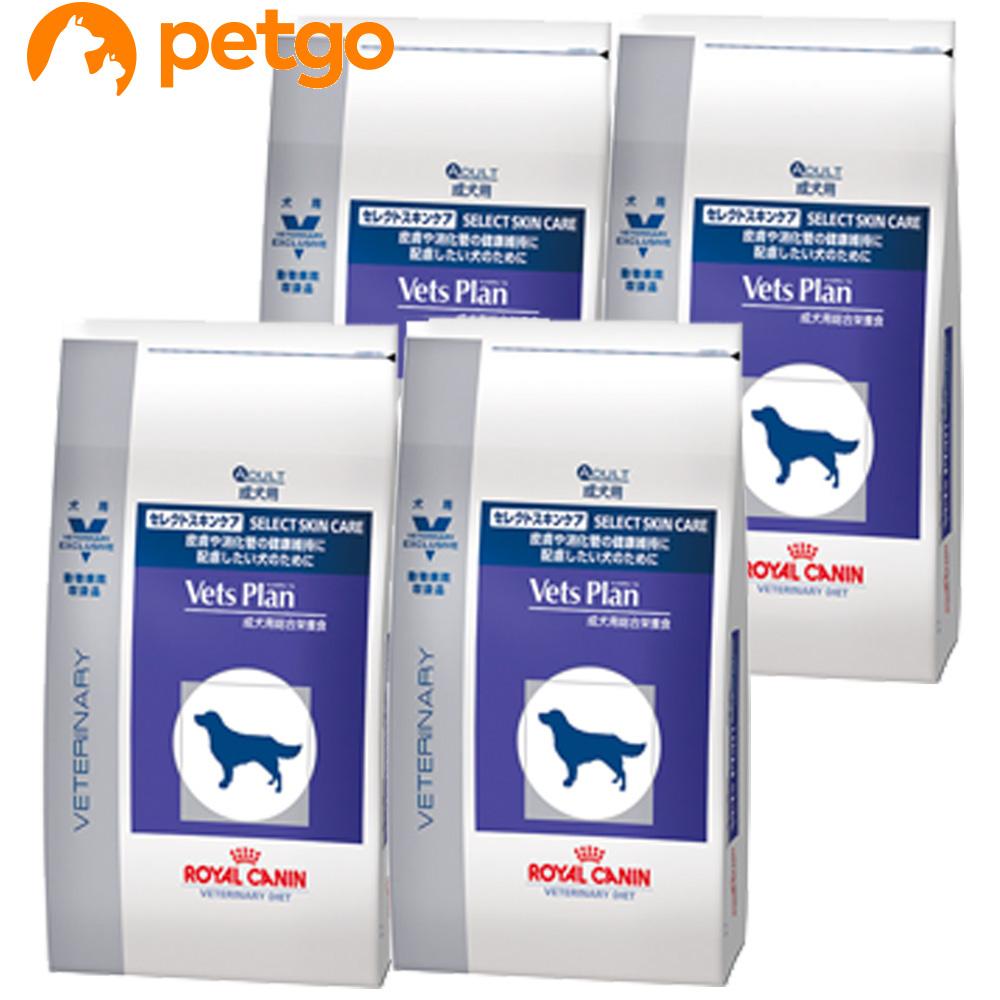 ロイヤルカナン ベッツプラン 犬用 セレクトスキンケア 3kg×4袋【ケース販売】【あす楽】