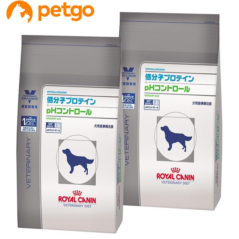 【2袋セット】ロイヤルカナン 食事療法食 犬用 低分子プロテイン+pHコントロール ドライ 8kg【あす楽】