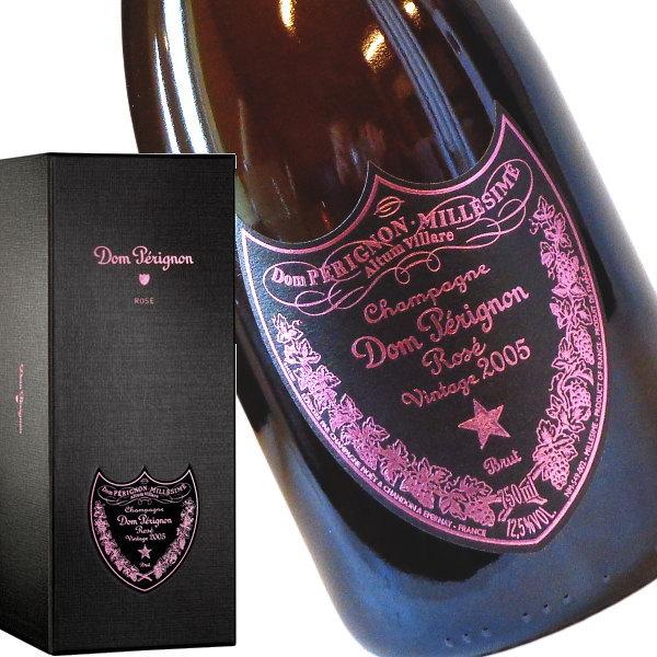 ドンペリニヨン ロゼ 2005 箱入り 750ml