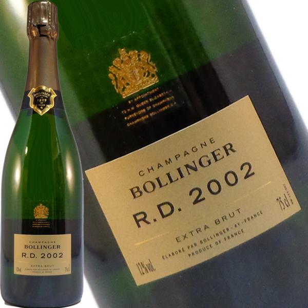 ボランジェ RD(アール ディー) 2002 750ml