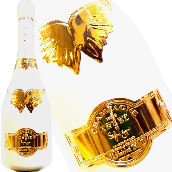 エンジェル シャンパン ブリュット ロゼ ホワイト 750ml