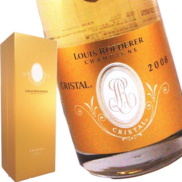 ルイ ロデレール クリスタル ブリュット 箱入り 2008 750ml(並行品)