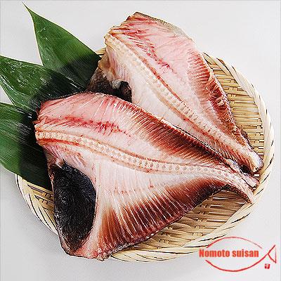 脂があるのに淡白な不思議な味わいの [並行輸入品] 売り込み まとう鯛 です オオメマトウダイ 一夜干し 1尾 600g以上の品物を1尾分 半身2枚入り 超特大サイズ