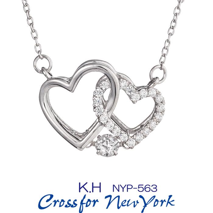 クロスフォーダンシングストーン キュービックジルコニアネックレス クロスフォーニューヨーク/Crossfor New York K.H NYP-563 正規販売店 ラッピング無料 送料無料 新品・未使用