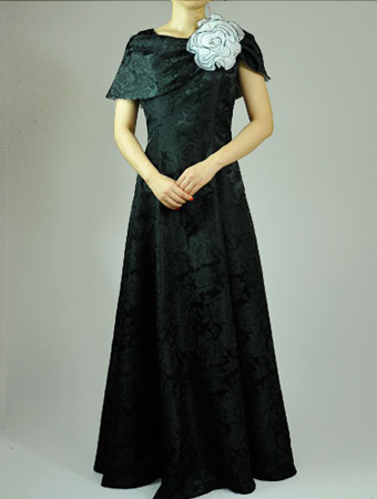 Non Prestage Suitable For Rose Pattern Jacquard 2way Cape Product