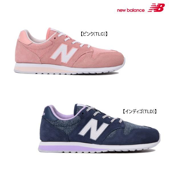 【ポイント10倍(スーパーSALE期間中限定)】new balance ニューバランス WL520レディースシューズ【WIDTH:B(やや細い)】【靴】