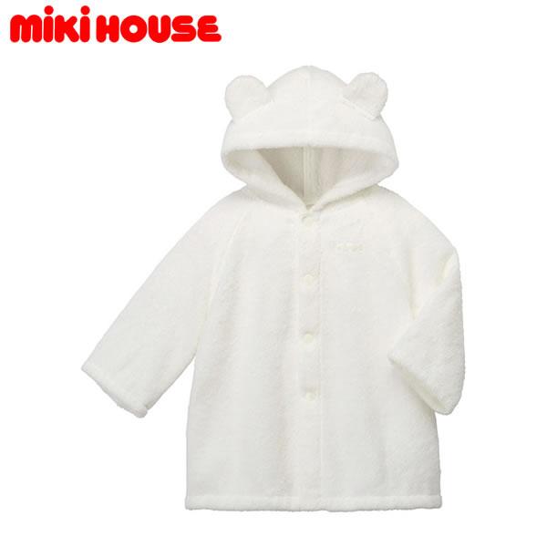 ミキハウス MIKIHOUSE ベビーバスローブ【箱入】【日本製】
