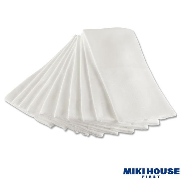 ミキハウス MIKIHOUSE シームレスおむつ【10枚セット】【日本製】【ベビー】