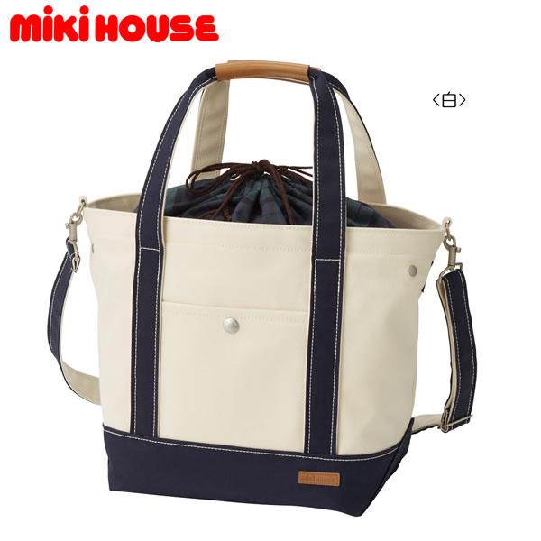 ミキハウス MIKIHOUSE キャンバストートバッグ【日本製】【ベビー】【レディース】【送料無料】