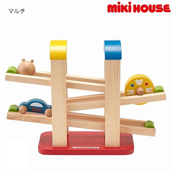 ミキハウス MIKIHOUSE ウッドスロープ【箱入】【ベビー】【キッズ】