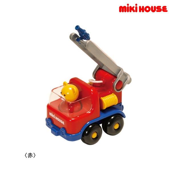 ついに入荷 ☆新作入荷☆新品 ミキハウス正規販売店 ミキハウス MIKIHOUSE 箱入 消防車