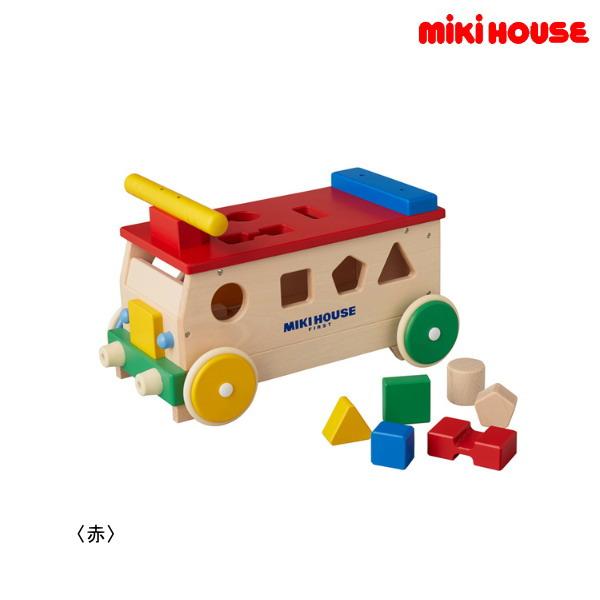 ミキハウス MIKIHOUSE パズルバス【箱入】【日本製】【ベビー】【キッズ】