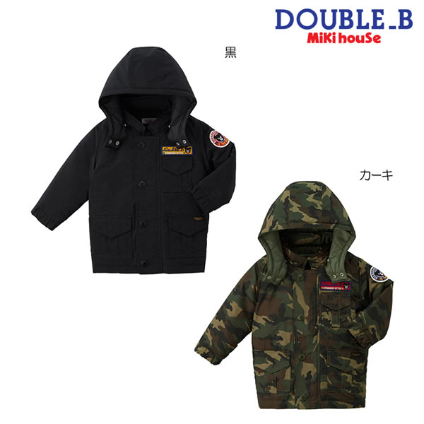 ダブルB(ミキハウス) Double B by MIKIHOUSE ポリエステルタフタ素材のジャンパー【送料無料】【キッズ】