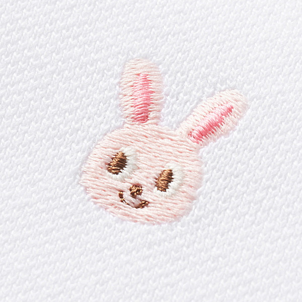 ミキハウスMIKIHOUSEうさこプチ刺繍入りカノコワンピース【日本製】【送料無料】【キッズ】