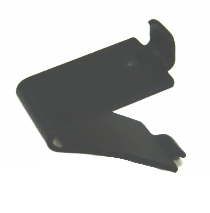 爪のみならメール便OK ダボレール用ステンレス棚受け爪 ブラック塗装 240個まで1通のメール便可 正規認証品 アウトレットセール 特集 新規格 単品