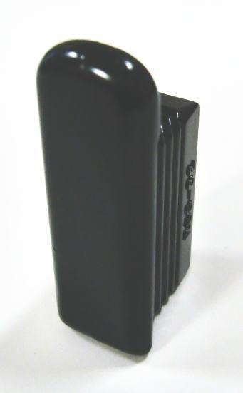 ロイヤル 32ミリ角パイプに使用するエンドキャップ 高級品 単品 Aブラック 日時指定 24個まで1通のメール便可 Sバーストッパーアール