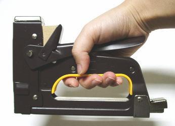 It is a stapler can Max gun Tucker trees.