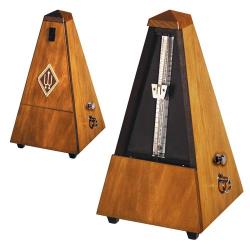 ウィットナー Wittner 木製メトロノーム 【813M】 ウォルナットカラー つや消し仕上げ
