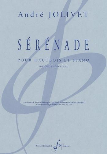 激安通販販売 Jolivet:Serenade pour Hautbois 超人気 et Piano Billaudot セレナーデ : Gerard ジョリベ