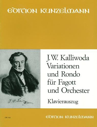 KALLIWODA : Variationen und 特価キャンペーン Rondo カリヴォダ KUNZELMANN 今だけ限定15%OFFクーポン発行中 変奏とロンド :