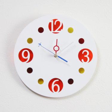 掛け時計【送料無料】【メッセージ料込み】GHOステンレスレーザーカット掛け時計GHO-SUS-TD12「ドロップ」【楽ギフ_名入れ】【楽ギフ_のし】掛時計 おしゃれ【10P01Nov14】