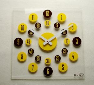 掛け時計GHOアクリル時計 BIGシリーズ01【楽ギフ_名入れ】【楽ギフ_のし】掛け時計 掛時計 おしゃれ【10P20Oct14】